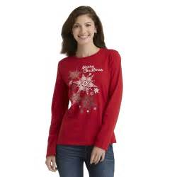 holiday editions women s christmas t shirt merry