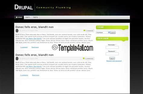 drupal theme ordered list colorful black drupal theme download