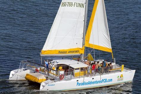 paradise adventures catamaran panama city beach 2018 - Paradise Adventures Catamaran