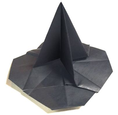 Origami Witch Hat - origami witch s hat