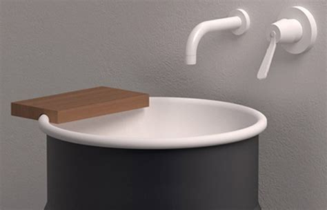 Agape Plumbing Fixtures by Steel Wash Basin By Agape New Vieques