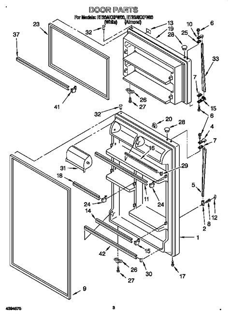 roper refrigerator parts diagram refrigerators parts roper refrigerator