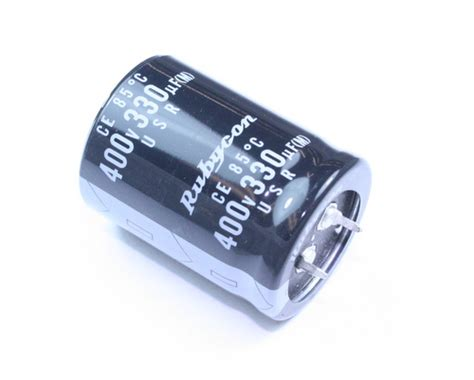 rubycon capacitor 400usr330m rubycon capacitor 330uf 400v aluminum electrolytic snap in 2020031074