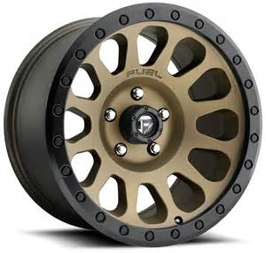 20 Bronze Truck Wheels 20x9 Fuel Vector Bronze D600 Wheels