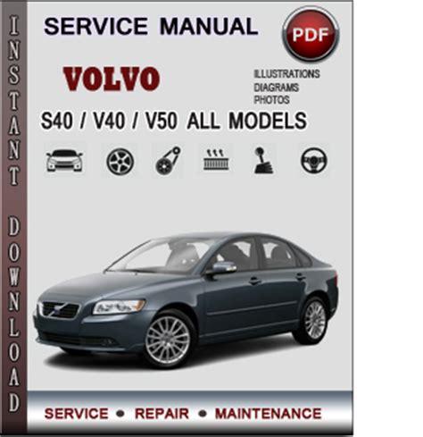 volvo svv service repair manual  info service manuals