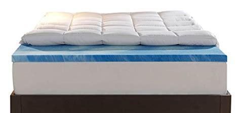 Memory Foam Mattress Topper Dubai by Sleep Innovations 4 Inch Dual Layer Mattress Topper