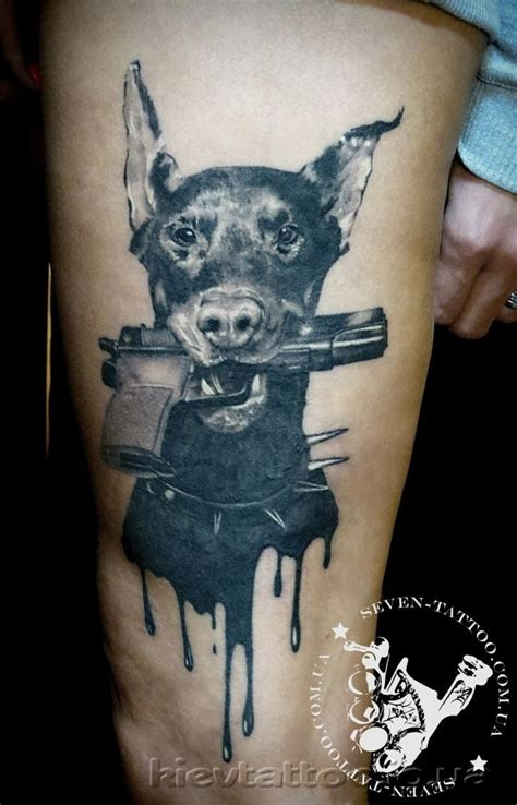 doberman tattoo 25 best ideas about doberman on