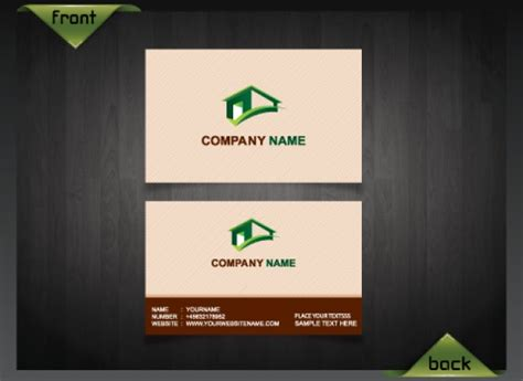 real estate business card template psd clean business card template real estate psd file free