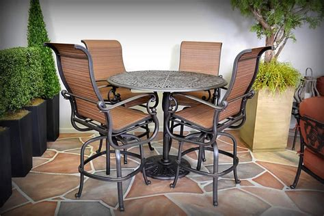 st augustine patio furniture st augustine patio high dining set http www treesntrends products patio furniture st