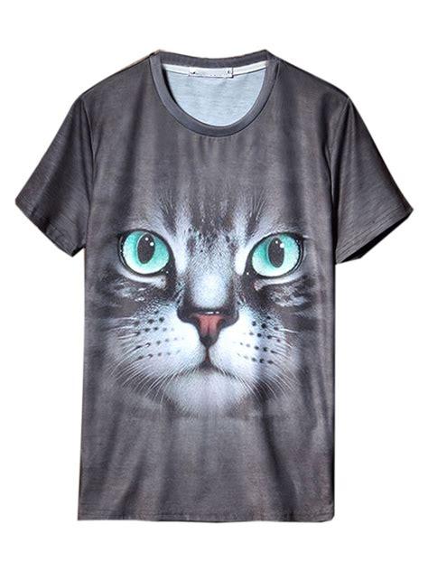 chance of clouds shorts 8 adorable paper bag shorts gray cute 3d cat print short sleeve t shirt choies
