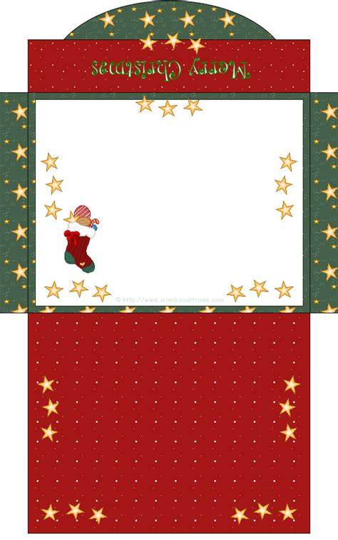 printable christmas envelope designs クリスマス 封筒 無料 お洒落で可愛い 封筒 のテンプレート フォーマット素材集 naver まとめ