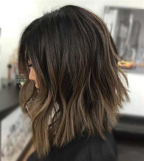 choppy lob hairstyle the choppy lob haircut hairstylegalleries com