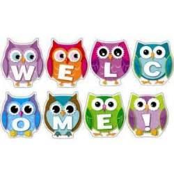 printable owl welcome sign best 25 welcome bulletin boards ideas on pinterest door