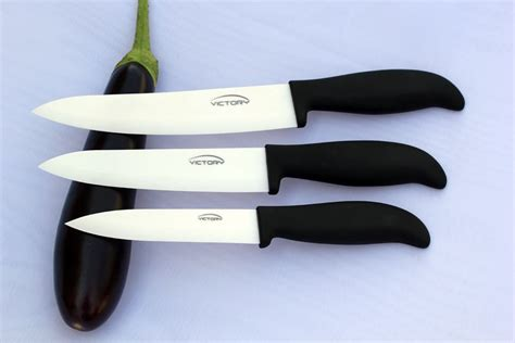 victory ceramic knife set 5 inch 6 inch 7 inch white blade