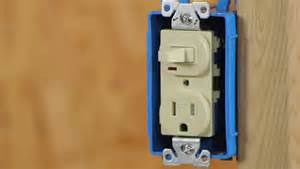 converting a light switch to a switch outlet combo ehow