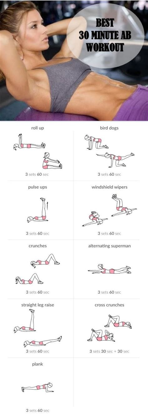 best 30 minute ab workout