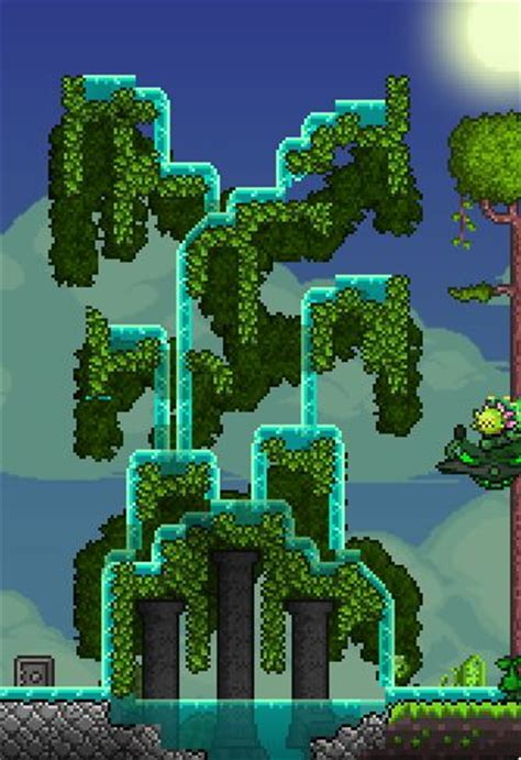 Terraria Gardening by Gardens Trees And Hanging Gardens On