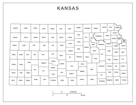 printable kansas road map maps of kansas