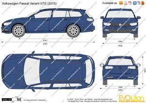 the blueprints com vector drawing volkswagen passat