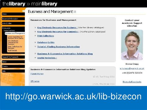 Warwick Mba Questions by Mba Library Induction