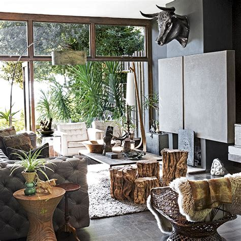 Jungle Style Living Room Open Plan Living Room Ideas To Inspire You Ideal Home
