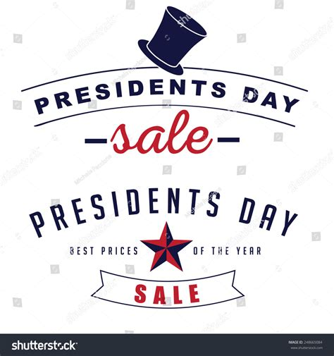 z gallerie presidents day sale presidents day sale icon insignia set stock vector