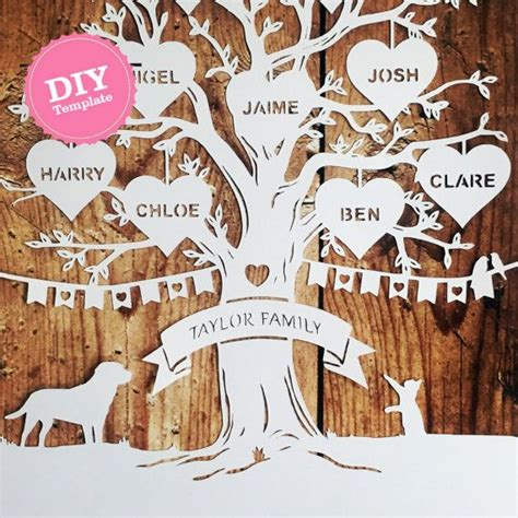 25 best ideas about family tree templates on pinterest