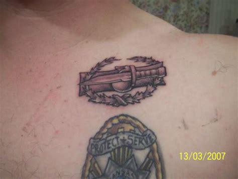 badge tattoo combat badge