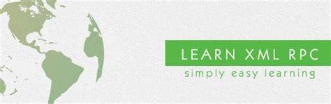 xml tutorial point pdf xml rpc tutorial