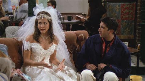 Rachael Wedding by Friends Runs Away From The Wedding