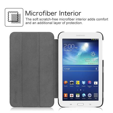 Soft Ultra Thin Samsung Tab 3v T111 T110 I Century ultra slim lightweight stand cover for samsung galaxy tab e lite 7 inch ebay