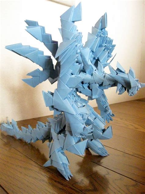 3d Origami Projects - 146 best origami dragons images on dragons