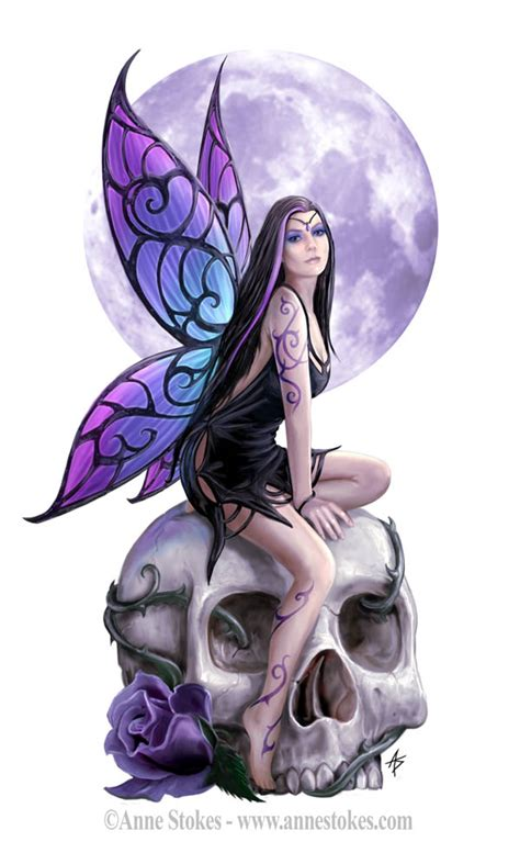anne stokes tattoo designs skull stokes photo 25692729 fanpop