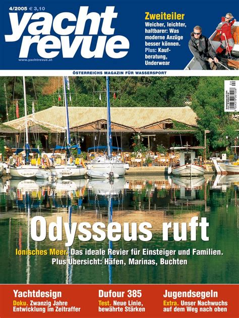 yacht yacht revue yachtrevue ausgabe april 2005 yachtrevue at