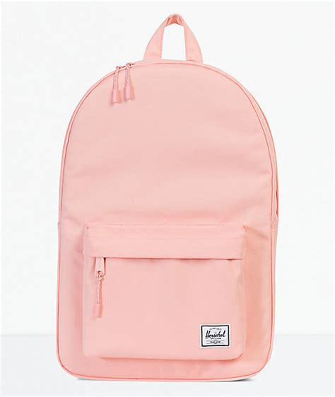 light pink herschel backpack herschel supply co apricot blush mid 18l backpack