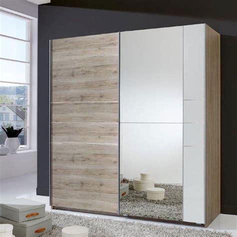 cubi sliding wardrobe in alpine white with white glass