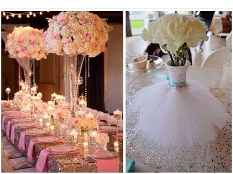glamorous wedding centerpiece diy dollar tree 25 bridal floral design
