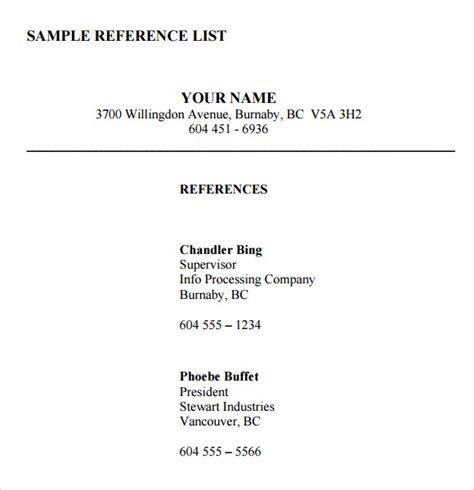 reference list sle sle reference list for sle reference list 7 exles in pdf
