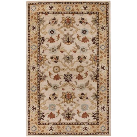 artistic weavers beige wool 8 ft x 11 ft area rug