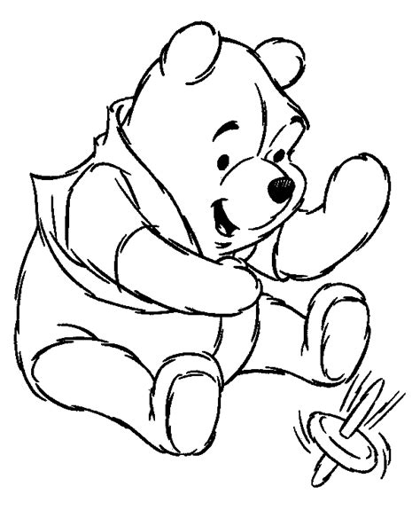 coloring pages pooh bear winnie the pooh coloring pages