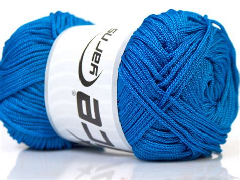 Macrame Yarn - macrame cord blue at yarns yarn store