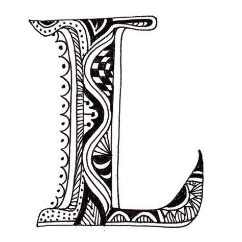 the letter l tattoo designs maori inspired alphabet