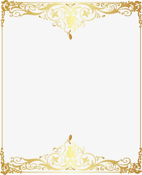 gold pattern frame vector gold pattern frame vector golden pattern png and