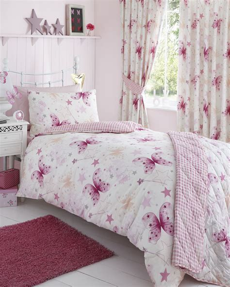 Single Bedding And Curtain Sets Childrens Quilt Duvet Cover Pillowcase Bedding Sets Or Matching Curtains Ebay