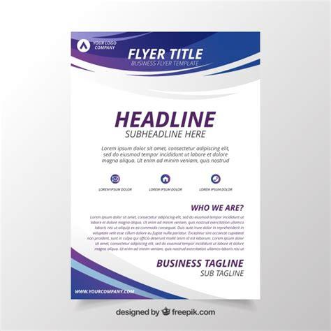 flyer design programm kostenlos abstrakte flyer vorlage download der kostenlosen vektor