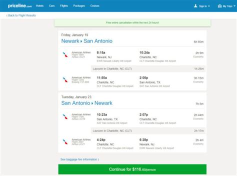The Flight Deal   American ? $117: Newark ? San Antonio