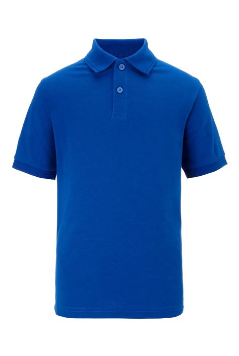 Tshirt Ralph Trl01 Buy Side royal blue unisex cotton polo shirt with stainaway