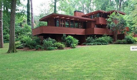 frank lloyd wright style homes for sale frank lloyd wright curbed atlanta