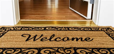 Welcome Home Mats by Welcome To The New Digs New Insider Insights And A New