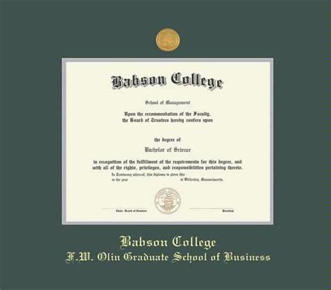 Babson Mba Diploma Olin Business School Frame by Custom Diploma Frames Certificate Frames Framing